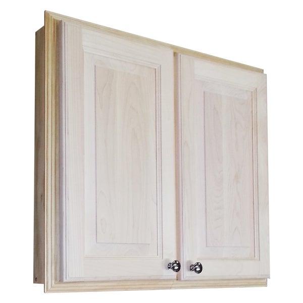 Barcelona 24-inch Unfinished Wooden Medicine Storage Cabinet