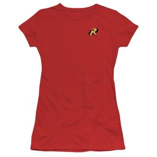 Batman/Robin Logo Junior Sheer in Red
