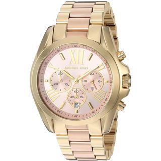 Michael Kors Women's MK6359 'Bradshaw' Chronograph Two-Tone Stainless Steel Watch