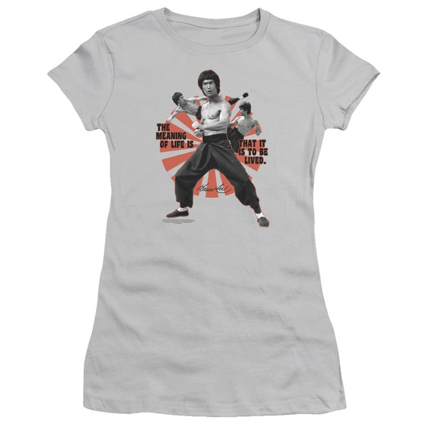 Bruce Lee/Meaning Of Life Junior Sheer in Silver