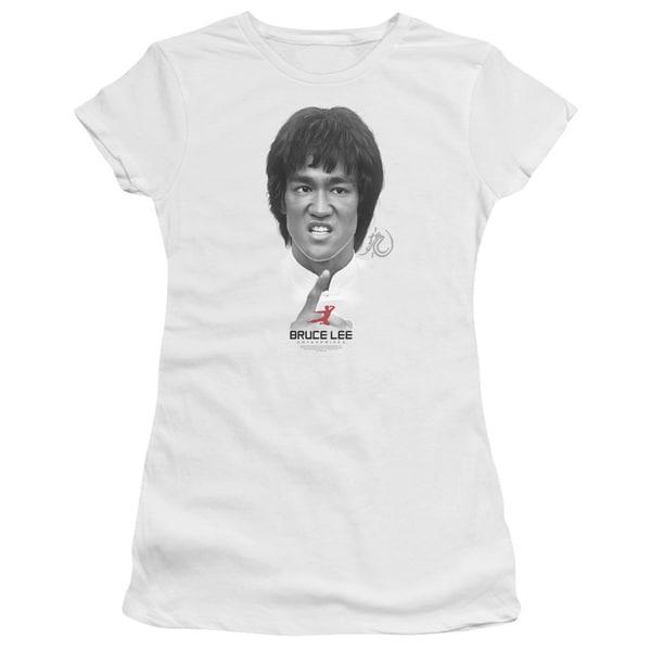 Bruce Lee/Self Help Junior Sheer in White