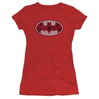 Batman/Rosey Signal Junior Sheer in Red in Red