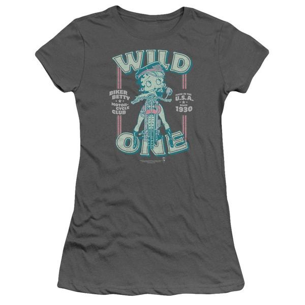 Boop/Wild One Junior Sheer in Charcoal