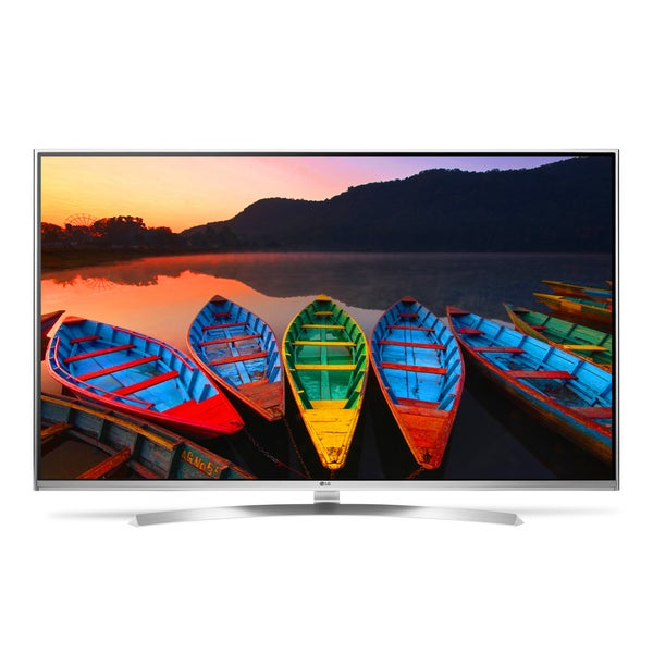 LG 55-inch White LED Smart TV