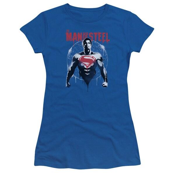 Batman V Superman/Super Spray Junior Sheer in Royal in Royal Blue
