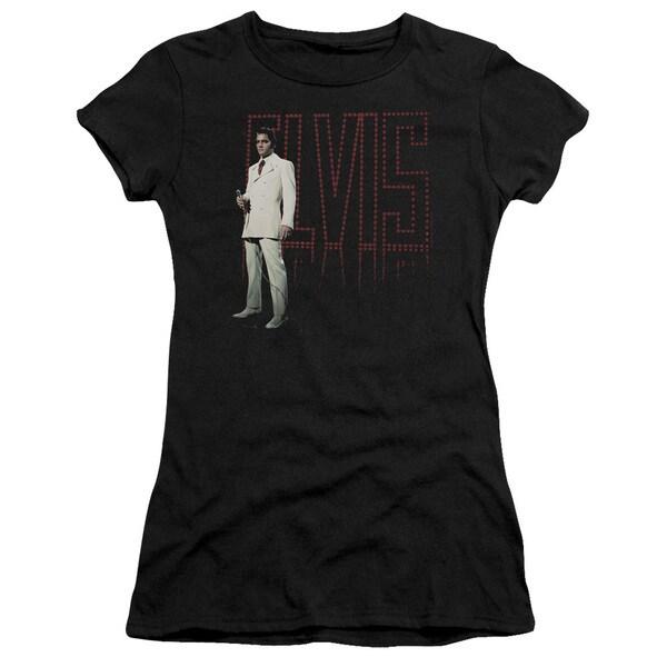 Elvis/White Suit Junior Sheer in Black