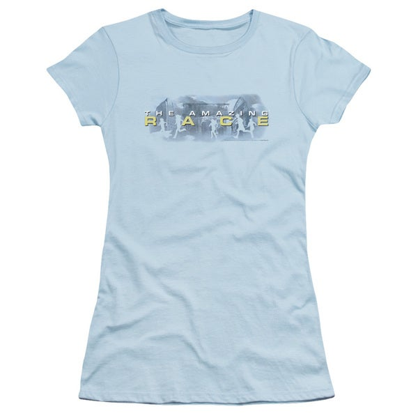 Amazing Race/In The Clouds Junior Sheer in Light Blue