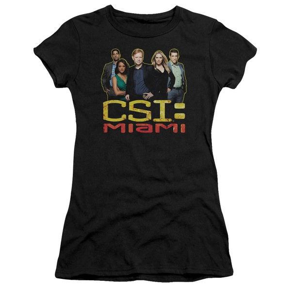 CSI Miami/The Cast in Black Junior Sheer in Black