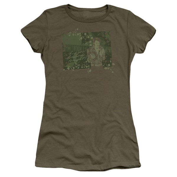 Elvis/That 70S Elvis Junior Sheer in Military Green