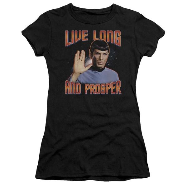 St Original/Live Long and Prosper Junior Sheer in Black