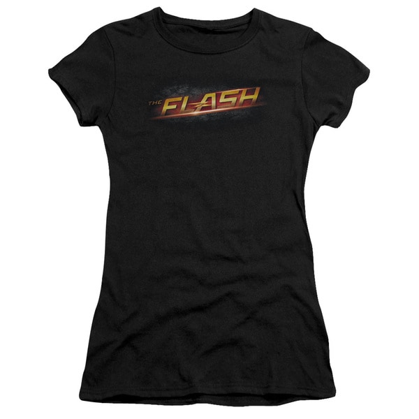 The Flash/Logo Junior Sheer in Black