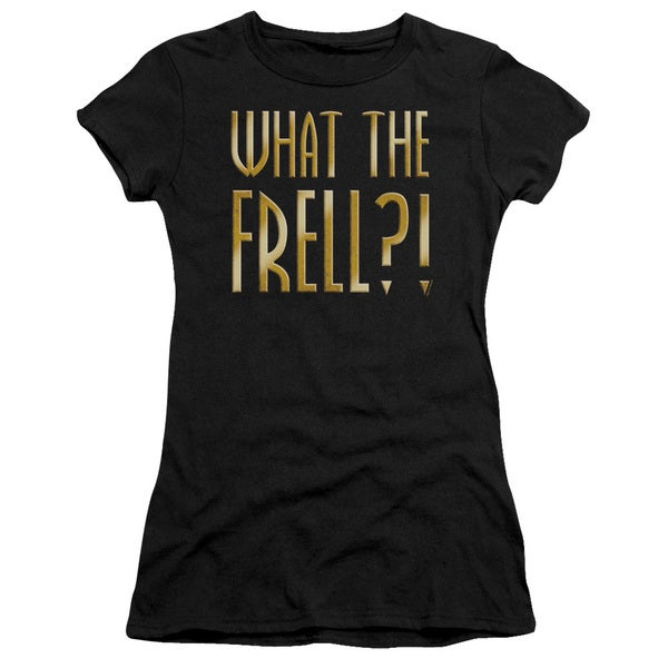 Farscape/What The Frell Junior Sheer in Black