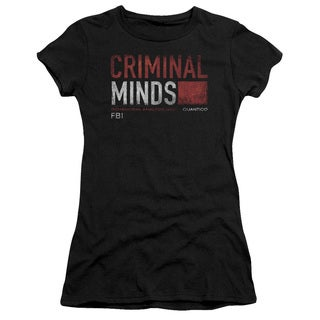 Criminal Minds/Title Card Junior Sheer in Black