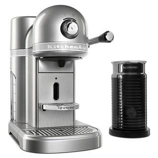 KitchenAid KES0504SR Nespresso Bundle, Sugar Pearl Silver