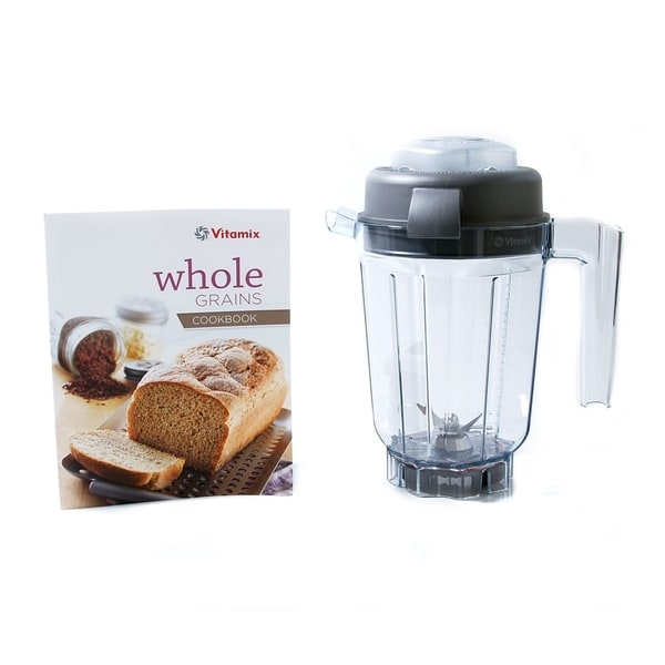 Vitamix 32-ounce Dry Grains Container with Whole Grains Cookbook 18839863