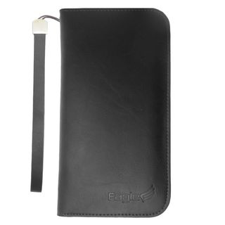 Insten Black Leather Case Cover For Alcatel One Touch Conquest/ Fierce 2 7040T Apple iPhone 6/ 6s ASUS Zenfone 2E