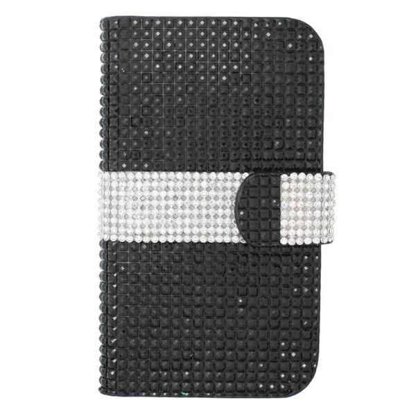 Insten Black Leather Case Cover For iPhone 6 / 6s Plus LG G Pro 2 Lite/ G Pro Lite/ G2/ G3 Galaxy Note II/ S6 Edge/ S7/ S7 Edge