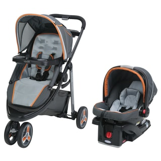 Graco Tangerine Plastic Modes Sport Click-connect Travel System