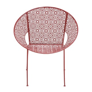 The Bright Metal Red Chair