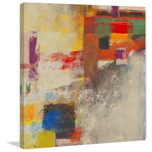Marmont Hill 'Liquid vs Image' Painting Print on Canvas