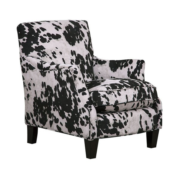 Cow Black Club Chair