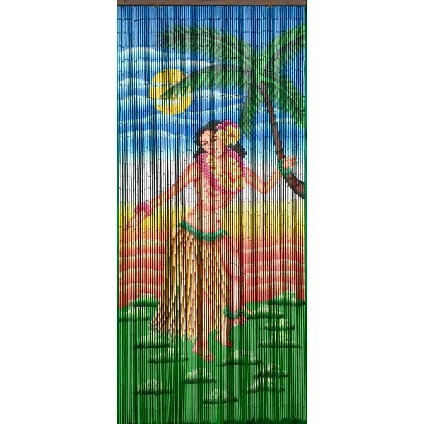 Dancing Hula Girl Curtain (Vietnam)