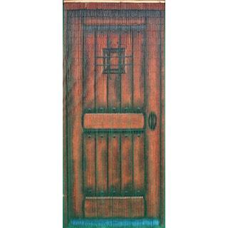 Brown Wood Door 125 Strands Curtain (Vietnam)