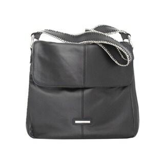 Ugo Santini Leather Shoulder Handbag