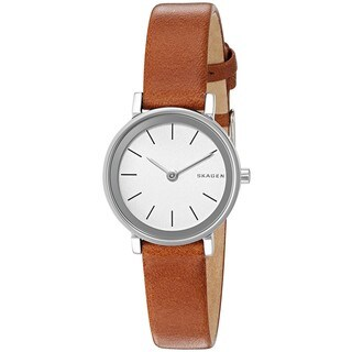 Skagen Women's SKW2440 'Hald' Brown Leather Watch