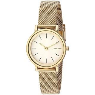 Skagen Women's SKW2443 'Hald' Gold-Tone Stainless Steel Watch