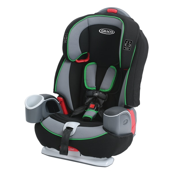 Graco Nautilus 65 3-in-1 Harness Booster Car Seat in Fern