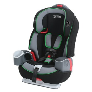 Graco Nautilus 65 Fern Green Plastic 3-in-1 Harness Booster Seat