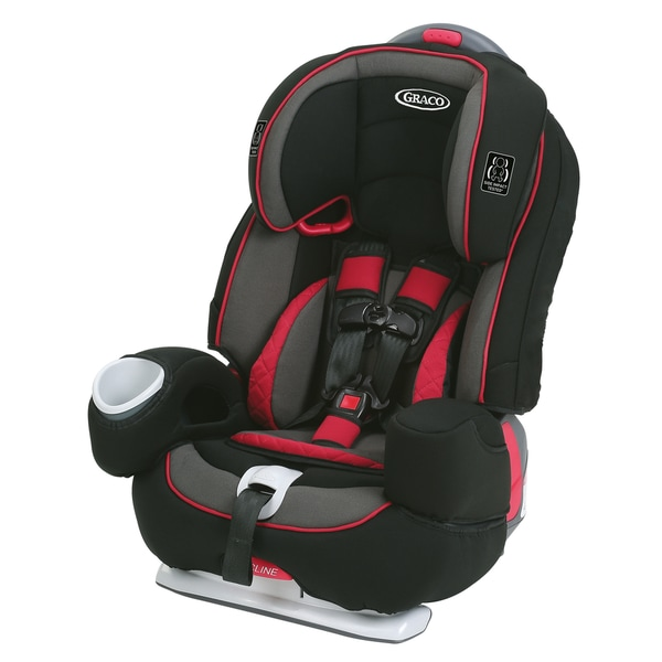 Graco Nautilus 80 Elite 3-in-1 Harness Booster Car Seat in Chili Red 18844164