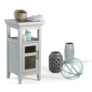 Wyndenhall Hayes Grey MDF Floor Storage Cabinet