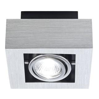 Eglo Loke Brushed/Black/Chrome Aluminum 35-watt Ceiling Track Light
