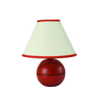 Round Basketball Table Lamp (2 Lamps Per Box)