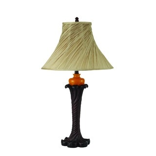 Brown Glass Table Lamp (2 Lamps Per Box)