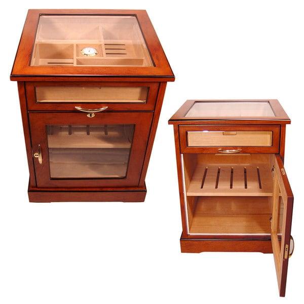 Cuban Crafters 600-cigar Cabinet Humidor
