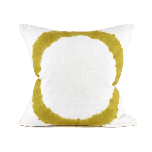 Panjin Chartreuse Decorative Pillow
