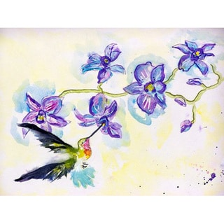 Hummingbird & Clematis Place Mat (Set of 4)