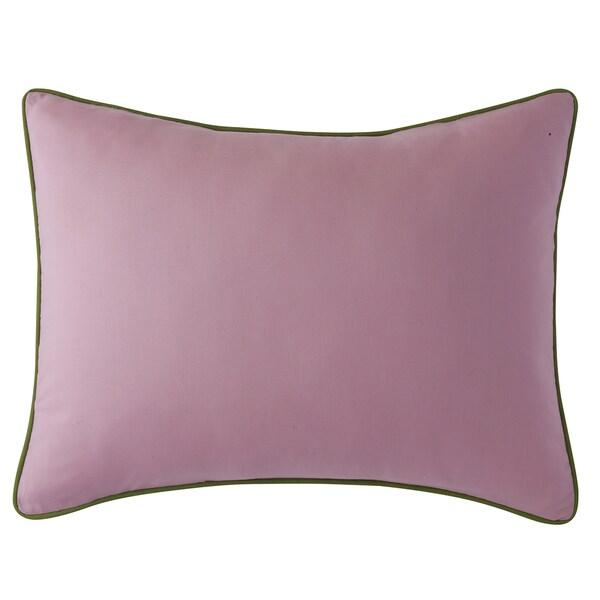 Kona Green, Pink Cotton Standard Sham