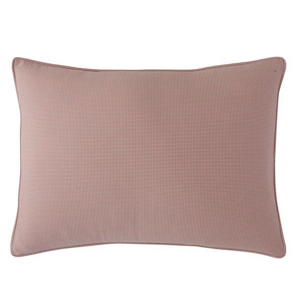 Gingham Standard-size Pillow Sham