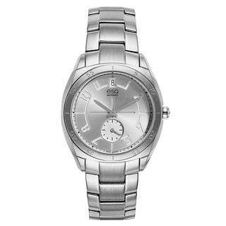 Movado Men's Museum Classic 0606876 Black Leather/Stainless Steel Strap Watch