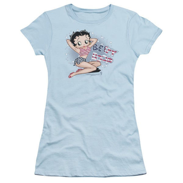 Boop/All American Girl Junior Sheer in Light Blue