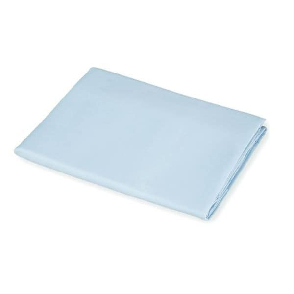 American Baby Company Blue Cotton Percale Crib Sheet