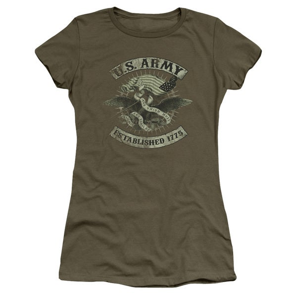 Army/Union Eagle Junior Sheer in Military Green