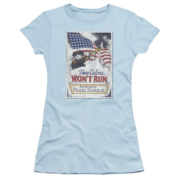 Army/Pearl Harbor Junior Sheer in Light Blue
