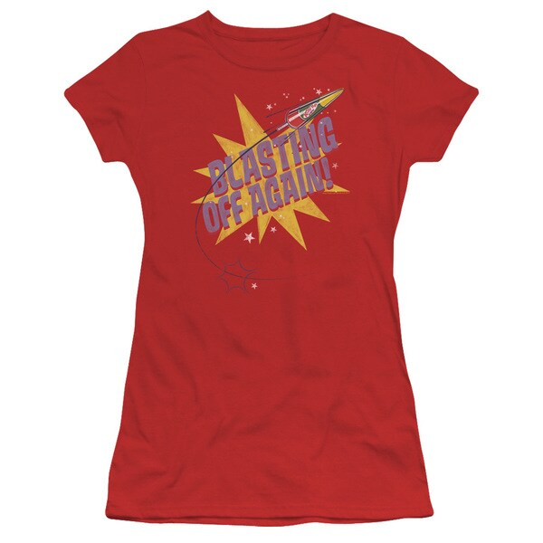 Astro Pop/Blast Off Junior Sheer in Red