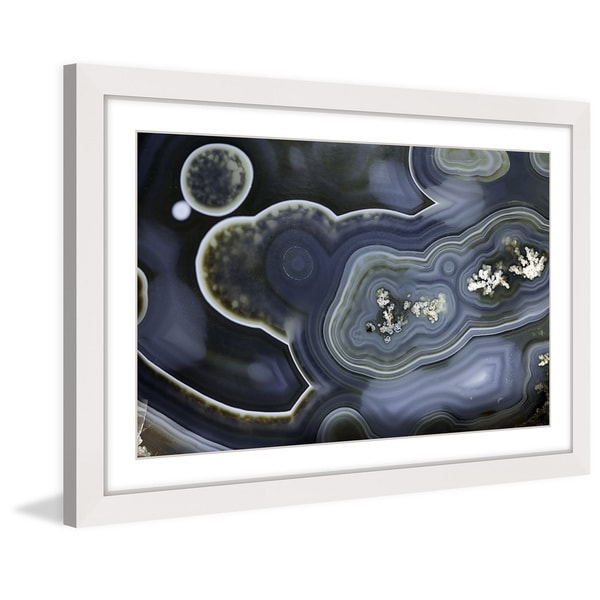 Marmont Hill 'Blue Birth' Framed Art Print