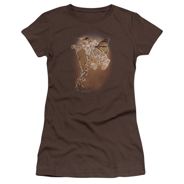 Wildlife/Delicate Dance Junior Sheer in Coffee